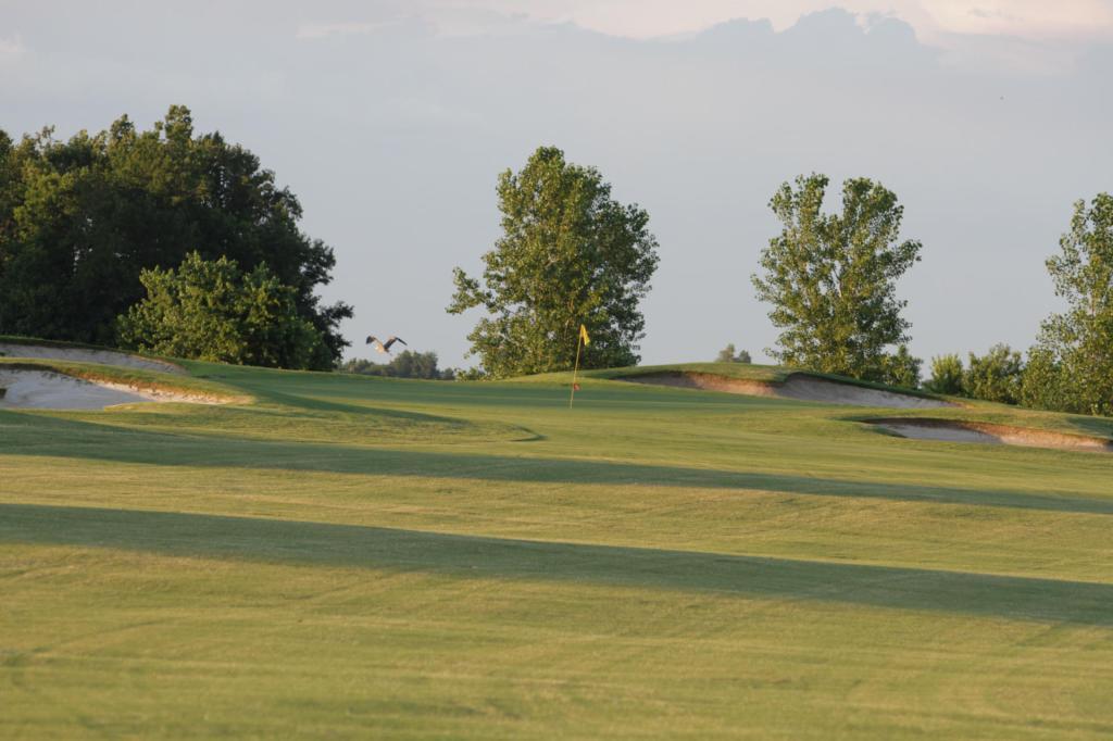 green at Thunder Bayou Golf Links
